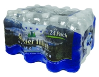 GLACIER MIST SPRING WATER 16.9 OZ 24 PACK