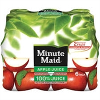 MM APPLE JUICE TO GO 6 PK - 10 OZ