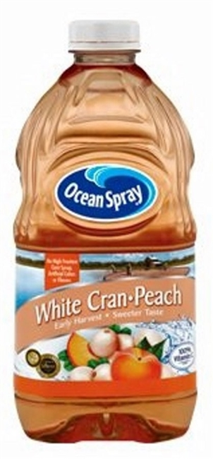 OCEAN SPRAY CRAN-PEACH  64 OZ