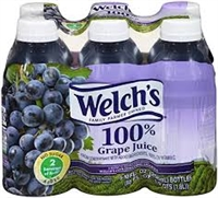 WELCH PURPLE GRAPE JUICE 10 OZ 6 PACK