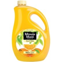 MINUTE MAID ORANGE JUICE GALLON (NO PULP)