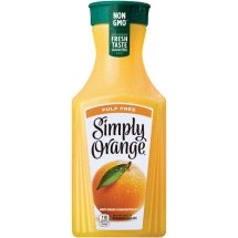 SIMPLY ORANGE JUICE 52 OZ (NO PULP)