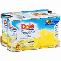 DOLE PINEAPPLE JUICE 6PK-6OZ