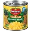DELMONTE CHUNK PINEAPPLE 15 OZ