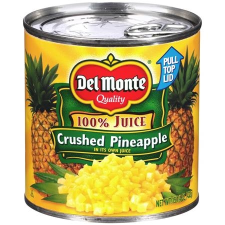 DELMONTE CRUSHED  PINEAPPLE 15 OZ