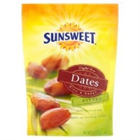 SUNSWEET PITTED DATES 8 OZ