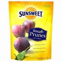 SUNSWEET PITTED PRUNES  8 OZ
