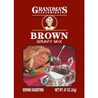 BROWN GRAVY MIX 1 OZ