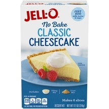 CHEESECAKE MIX JELL-O 11 OZ