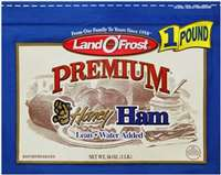 LAND O FROST HONEY HAM 16 OZ