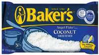 BAKER ANGEL COCONUT FLAKES 14 OZ
