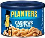 PLANTER CASHEW HALVES AND PEICES 8 OZ