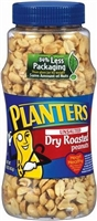 DRY ROAST UNSALTED PEANUT 16 OZ