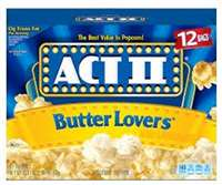 ACT2  BUTTER LOVERS 12 CT