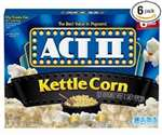 ACT 2 KETTLE CORN 6 CT