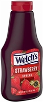WELCH STRAWBERRY JELLY SQUEEZE 22 OZ