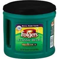 FOLGER DECAF COFFEE 30.5 OZ