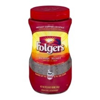 FOLGERS INSTANT COFFEE 12 OZ