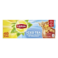 LIPTON FAMILY TEA BAG 48 CT