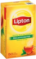 LIPTON DECAF TEA BAGS 50'S