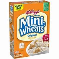 KELLOGS FROSTED MINI WHEATS 18 OZ