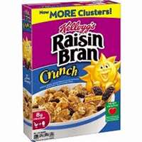 KELLOGS RAISIN BRAN CRUNCH 18 OZ