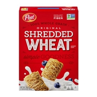 POST SHREDDED WHEAT SPOON SIZE 16.4 OZ
