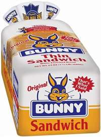 BUNNY WHITE BREAD LOAF 24 OZ (SALE!)