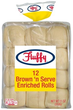 BROWN N SERVE ROLLS 11 OZ