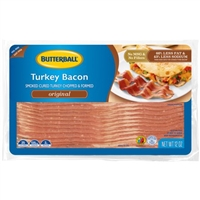 TURKEY BACON 12 OZ