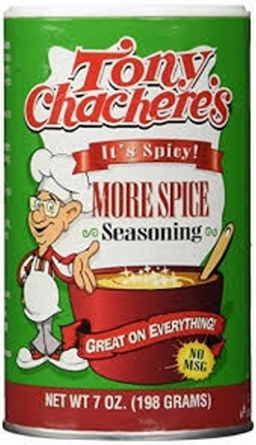 TONY CHACHERES SPICY SEASONING