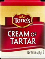 TONES CREAM OF TARTAR 1 OZ