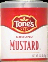 TONES MUSTARD-GROUND .45 OZ