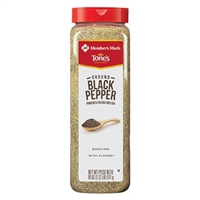 GROUND BLACK PEPPER 18OZ