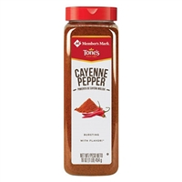 TONE'S CAYENNE PEPPER 16 OZ.