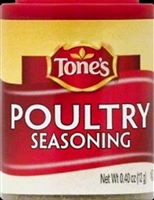 TONES POULTRY SEASONING .4 OZ