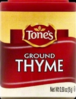 TONES THYME-GROUND .5 OZ