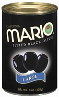 MARIO BLACK OLIVES 6 OZ