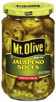 SLICED JALAPENO MT OLIVE 12 OZ