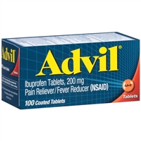 ADVIL IBUPROFEN TABLETS 100 CT