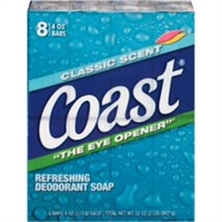 COAST SOAP BAR 8 CT