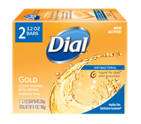 DIAL SOAP BAR 2 CT