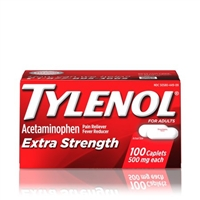 TYLENOL EXTRA STRENGTH 100 CT