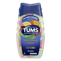 TUMS ASSORTED FRUIT 72 CT
