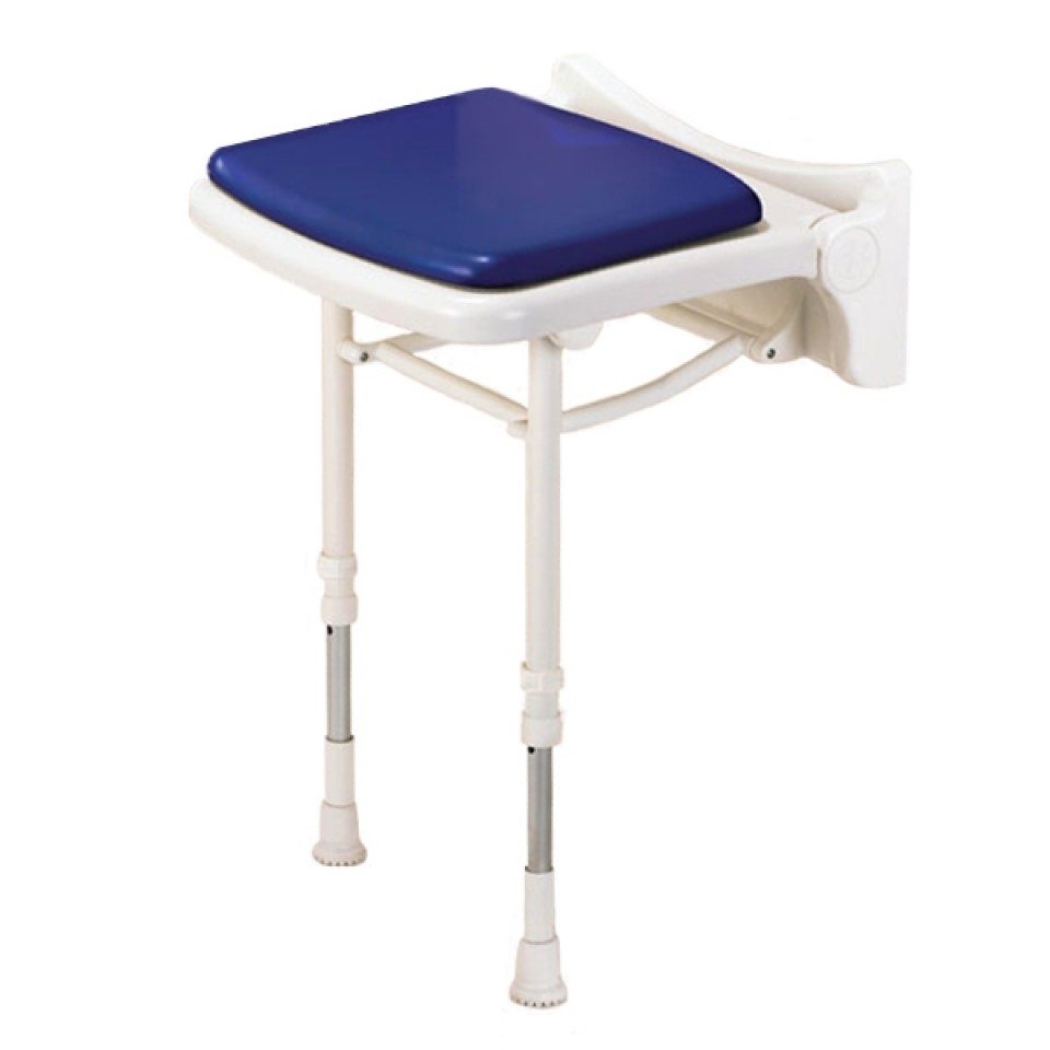 AKW 02010P Standard Fold Up Shower Seat