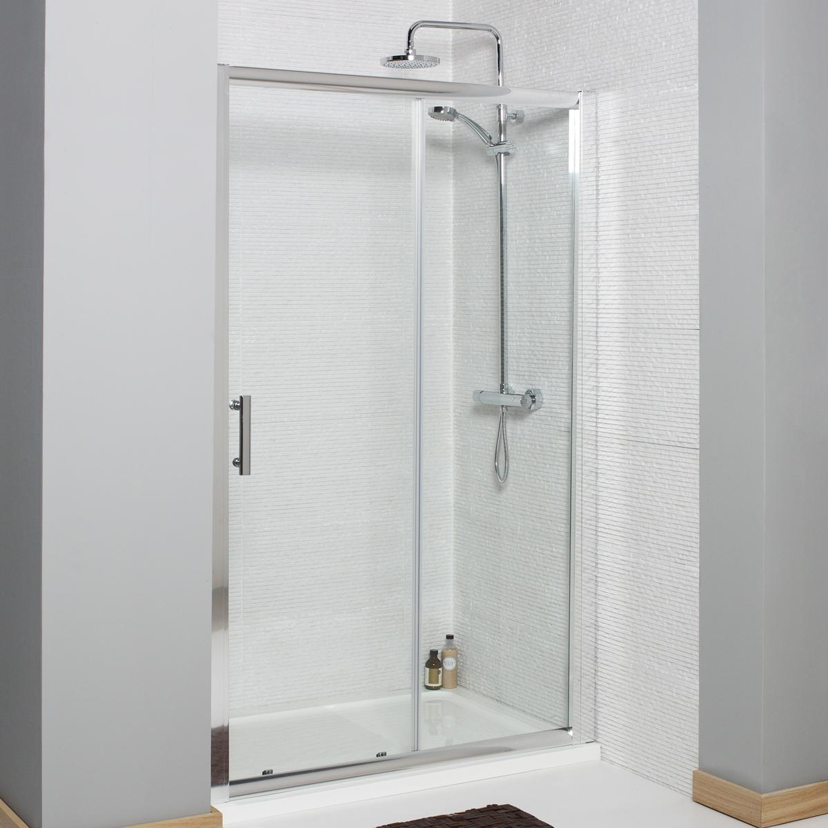 K Vit Koncept 1000mm Sliding Door Shower Screen