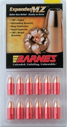 Barnes Expander MZ 250 grains Muzzleloader Bullets for .50 caliber 24 pack