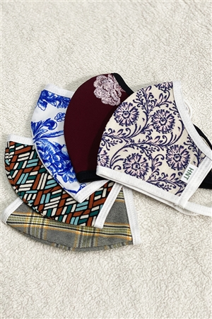 ASSORTED PRINT FACE MASK BUNDLE
