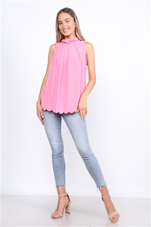 FLAMINGO PINK TOP  TT2708