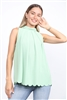 PISTACHIO GREEN TOP  TT2708  (1S-2M-1L)
